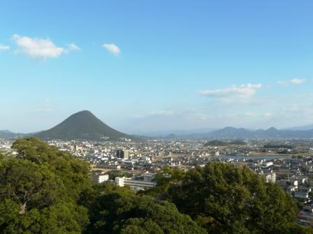 丸亀城からの眺め 2