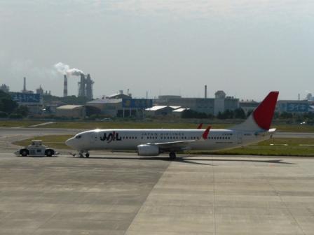 松山空港 5  ボーイング737-800
