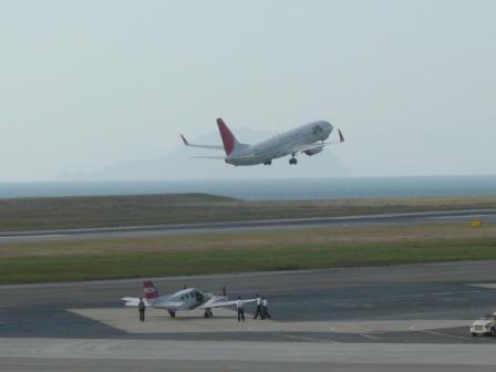 松山空港 6  ボーイング737-800