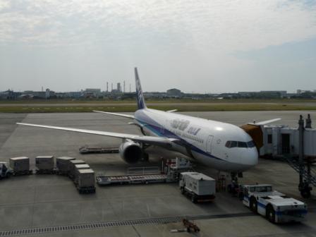 松山空港 12  坂の上の雲ラッピングジェット