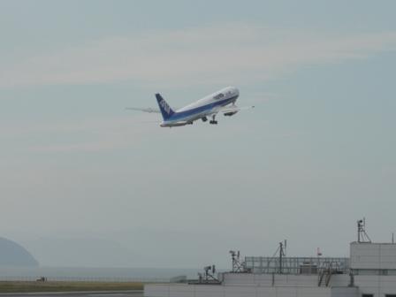 松山空港 17  坂の上の雲ラッピングジェット