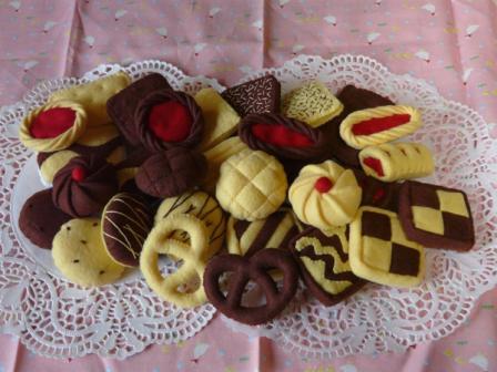 フェルト手芸 クッキー 1セット