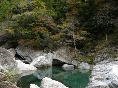 中津渓谷 1