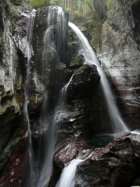 中津渓谷 7 雨竜の滝