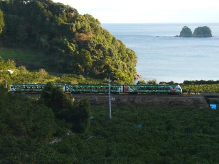 須崎市 アンパンマン列車