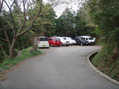 城山上部エリア駐車可能場所1