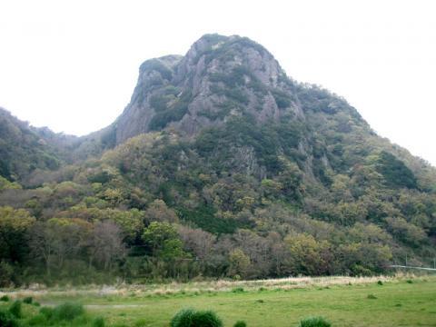 城山アピタ前キャンプ適地付近からの城山