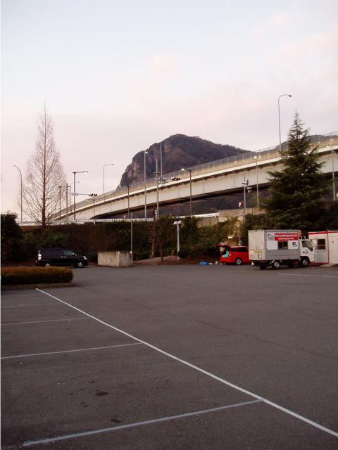 道の駅伊豆のへそからの城山