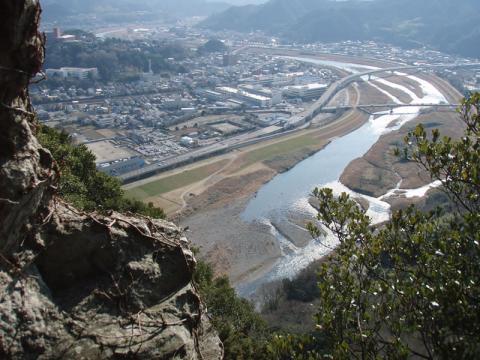 城山ねずみ岩からの眺望