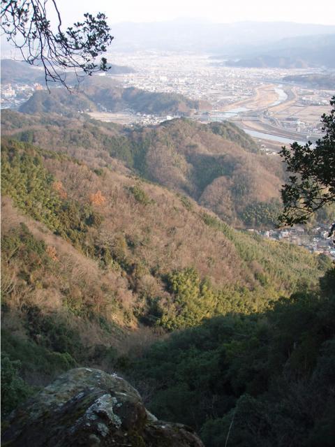 城山ポンポコランドからの眺め