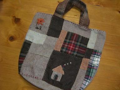 ウールのbag