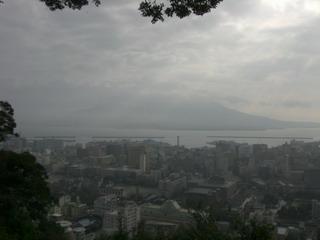 城山より桜島