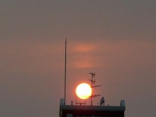 15日夕陽
