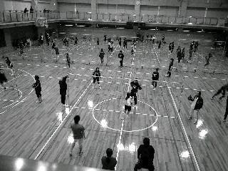 ソフトバレーボール試合