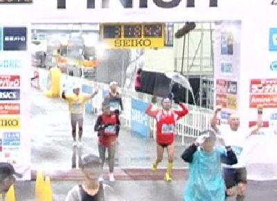 東京マラソン2010ゴール