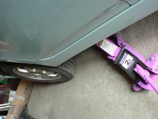 タイヤ交換2010