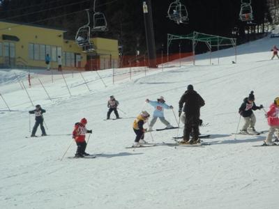 2010スキー教室1