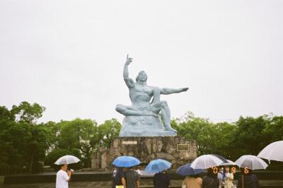 平和祈念像です。