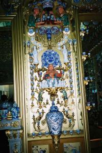 ギヤマンミュージアム内のガラス細工です。