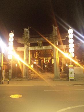 櫛田神社ライトアップ09・10