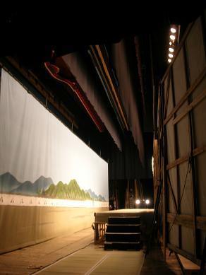 歌舞伎座・舞台1