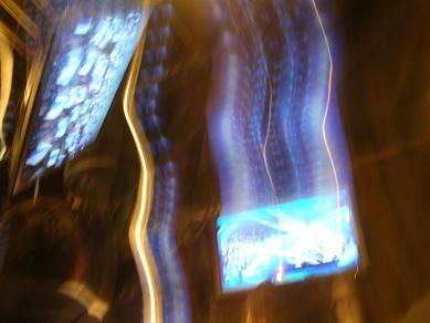 ブルーマン2010舞台稽古
