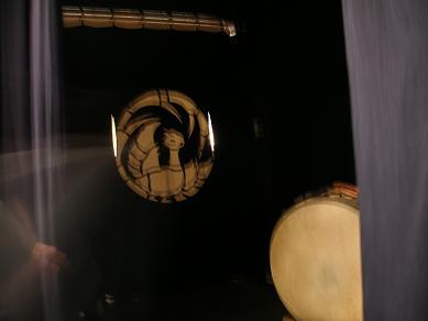 歌舞伎座・揚幕 陣屋