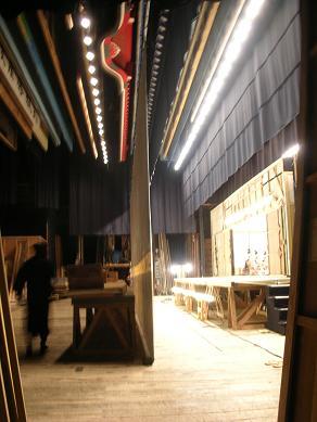 歌舞伎座・舞台裏
