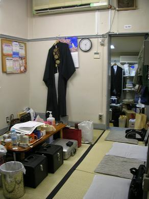 歌舞伎座・鳴物部屋1