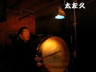 歌舞伎座・四月・大太鼓