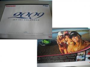 2009Kawasaiジェットスキーカレンダー