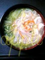 はりま製麺スープでうどん06