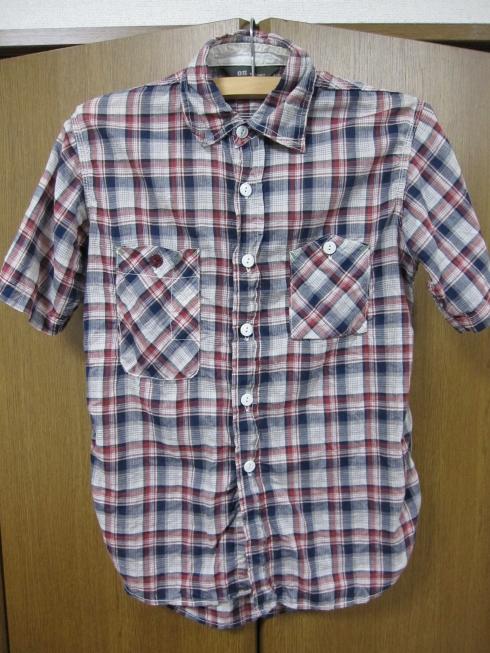 FOB FACTORY 半袖チェックワークシャツ (2)