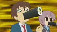 「涼宮ハルヒちゃんの憂鬱」第8話.flv_000087787