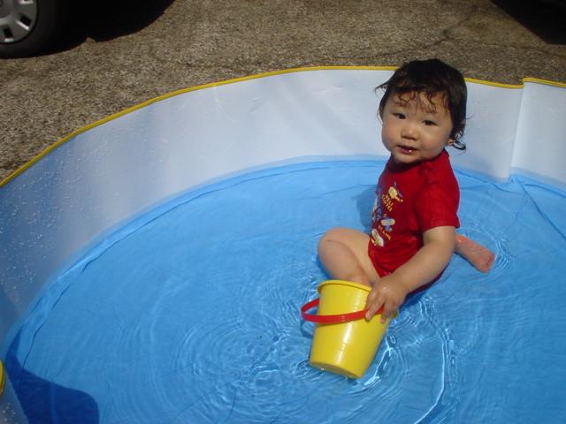 Jr 水浴び