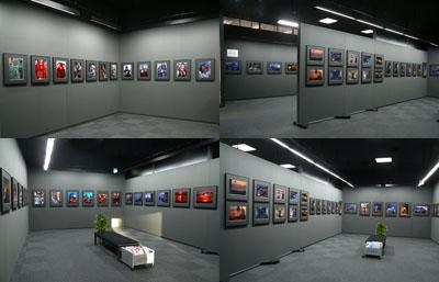 欧州紀行写真展会場風景 1