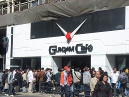 ガンダムカフェ。