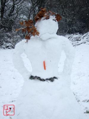 雪だるま9