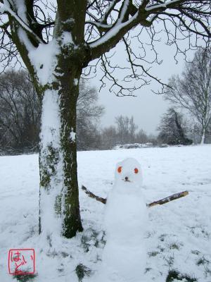 雪だるま13
