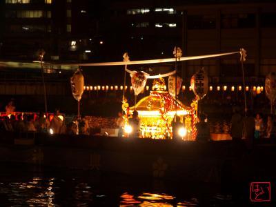 天神祭・船渡御