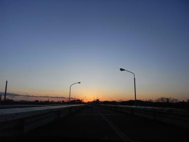 夕日のガンマン