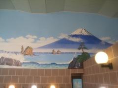 照の湯壁絵
