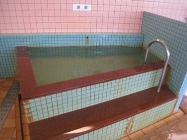 湊山源泉浴槽