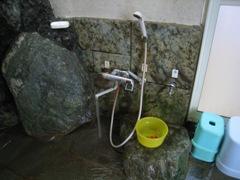 川中子シャワー