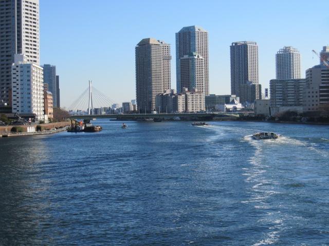 勝鬨橋から