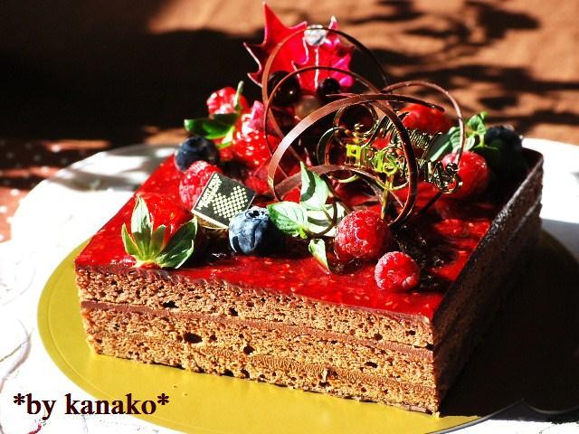 ★★★★★★★★ベリーのチョコケーキ4