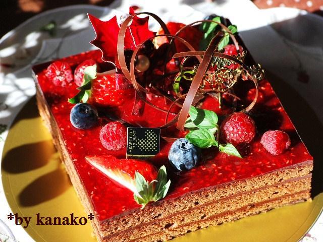 ★★★★★★★★ベリーのチョコケーキ10