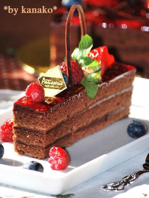 ★★★★★★★★ベリーのチョコケーキ21