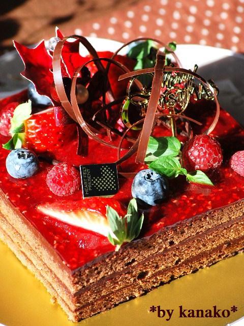 ★★★★★★★★ベリーのチョコケーキ14