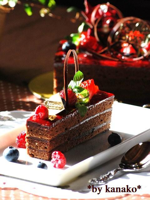 ★★★★★★★★ベリーのチョコケーキ19